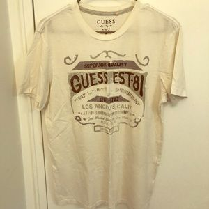 Guess White Tee